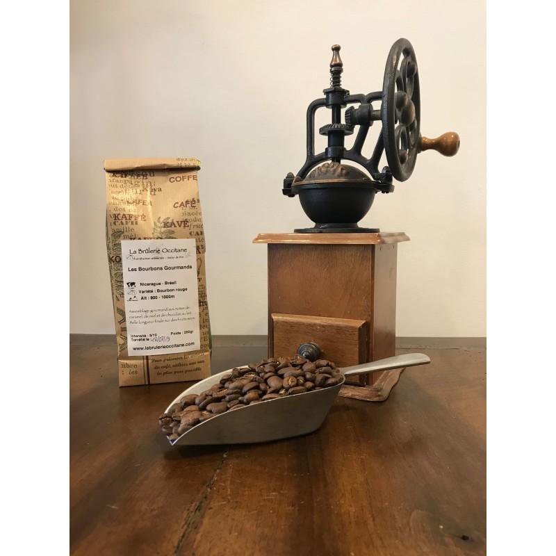 LEs Bourbons Gourmands - café en grain