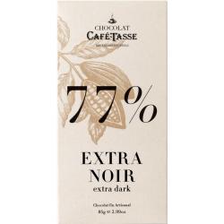 Tablette Extra Noir 77% -...