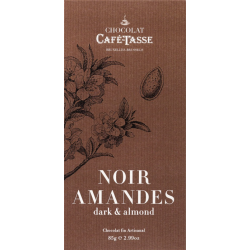Tablette Noir/Amandes -...